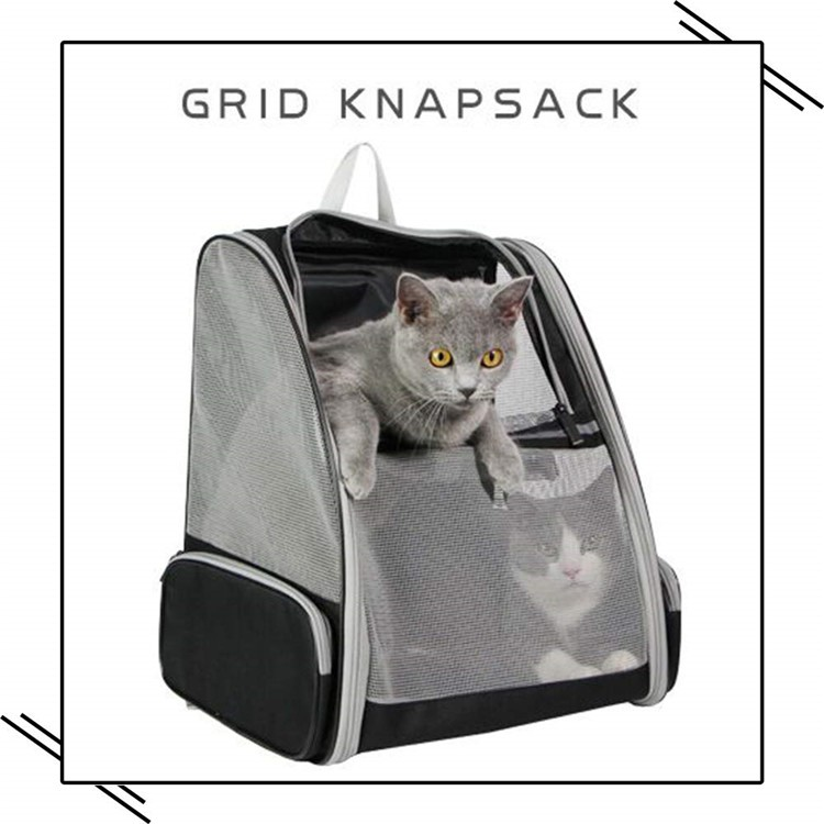 Softback Hiking Dog Travel Carrier Stocked Pet Back Packs Rpet Cat Backpack For Dogs Cats