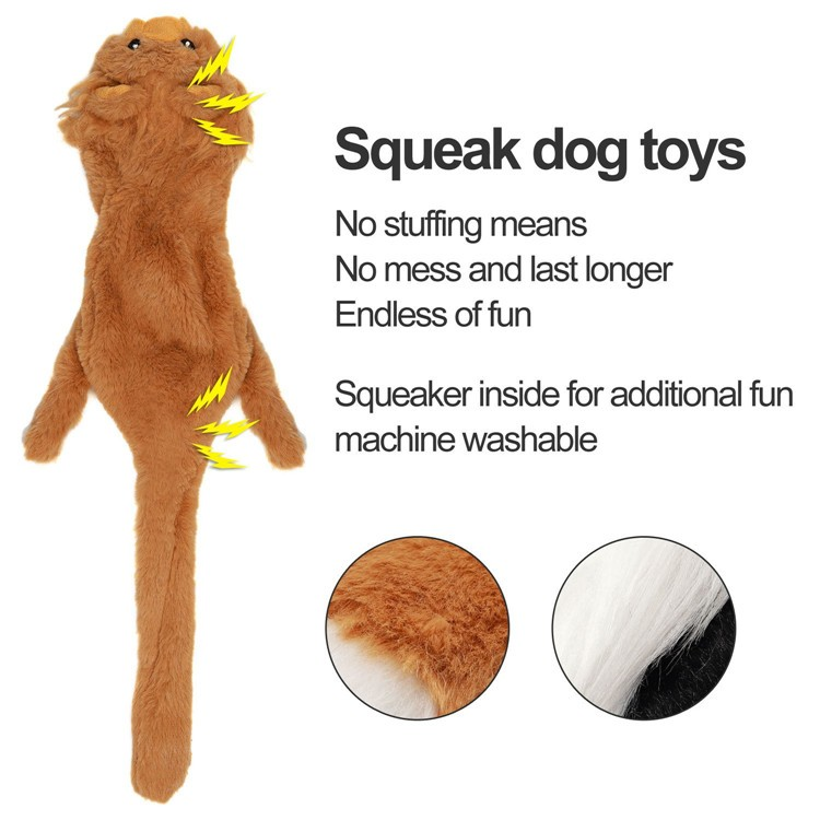 Pack Soft Squeaky Interactive Chew Plush Pet Dog Toys For Dog