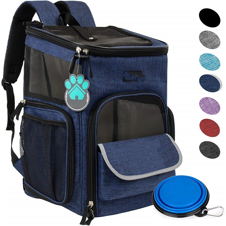Wholesale Airline Approved Pet Travel Bag Dog Carrier Pet Backpack For Cats Hiking Outdoor