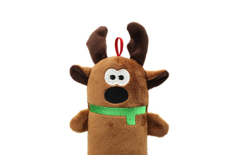 Christmas Squeaky Interactive Chew Plush Pet Dog Toys For Dog